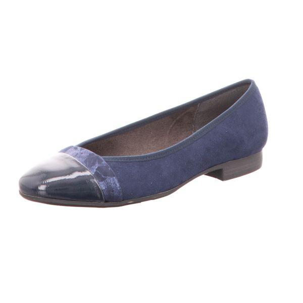 Scarbella Damen-Komfort Pumps Blau