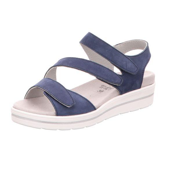 Scarbella Damen-Komfort-Sandalette Blau