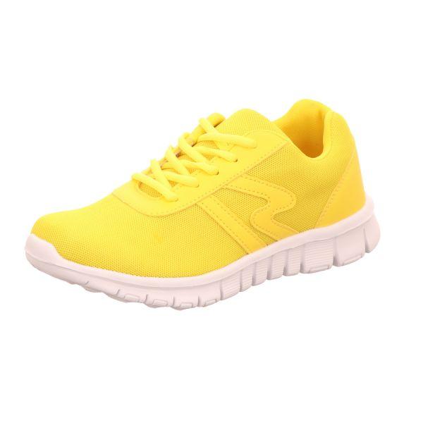 Sneakers Mädchen-Sneaker Gelb