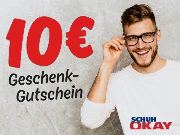 10 € SCHUH OKAY Gutschein