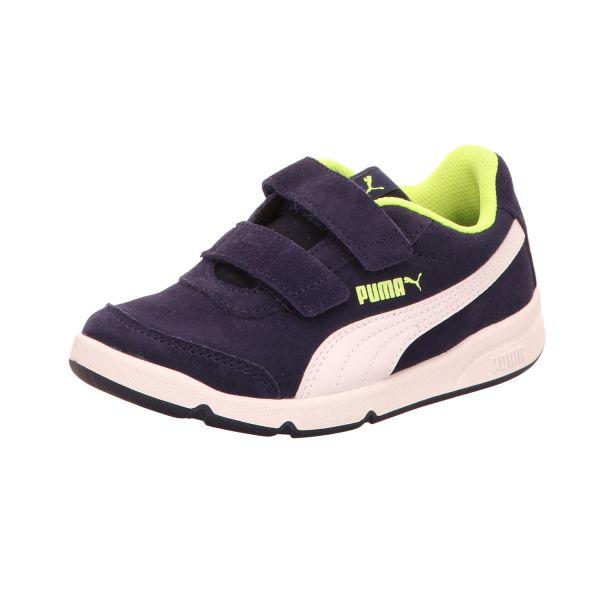 Puma Jungen-Slipper-Kletter-Sneaker Stepfleex 2 SD V PS Blau