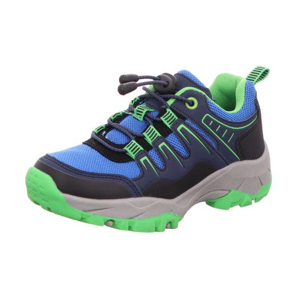 Sneakers Jungen-Slipper Blau-Grün