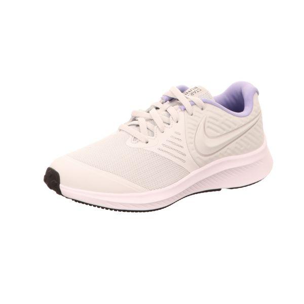 Nike Mädchen-Sneaker Star Runner 2 Grau