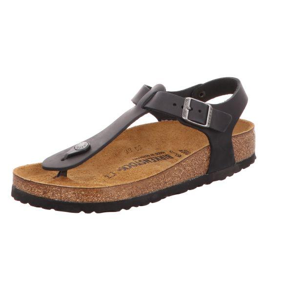 Birkenstock Damen-Sandalette mit Tieffußbett Kairo BS Schwarz