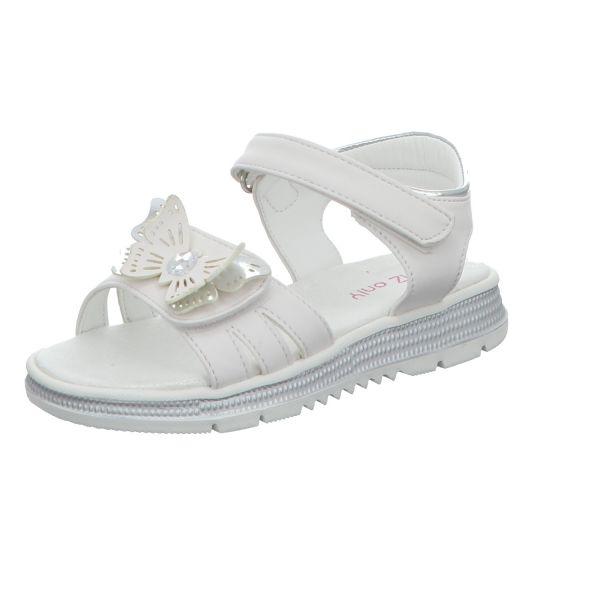 girlZ onlY Mädchen-Sandalette Weiß