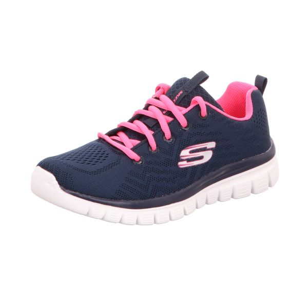 Skechers Damen-Sneaker Graceful Get Connected Blau