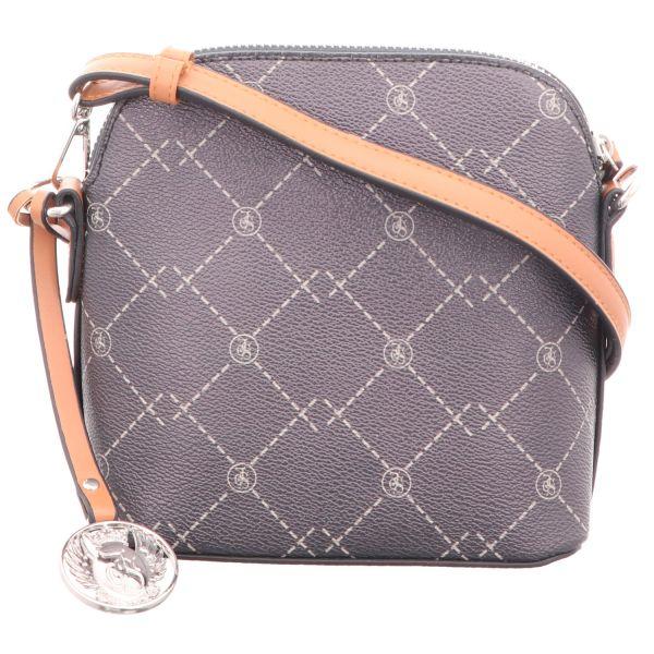 Jewels of Style Damen-Reißverschlusshandtasche Blau