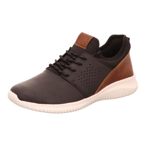 living UPDATED Herren-Sneaker Schwarz-Braun