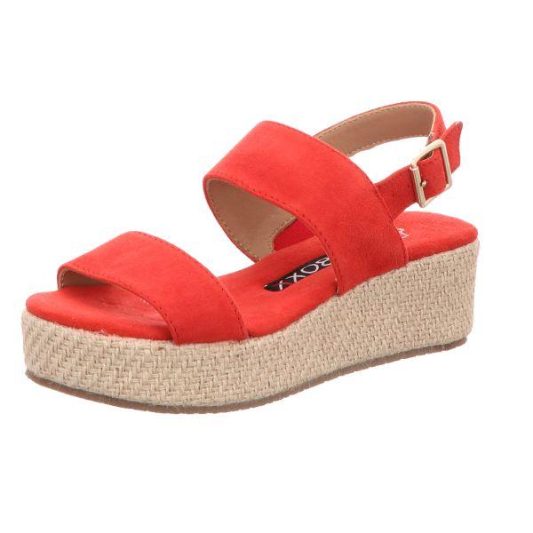 BOXX Damen-Sandalette Rot