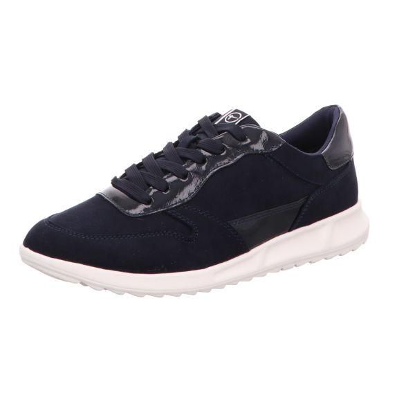 TAMARIS Damen-Sneaker-Schnürhalbschuh Blau