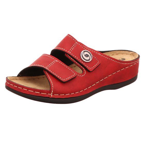 inblu Damen-Pantolette Rot