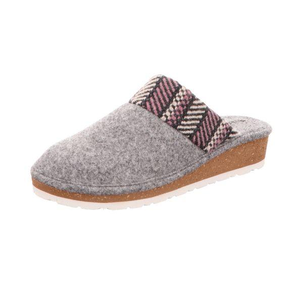 Rohde Damen-Pantoffel Grau