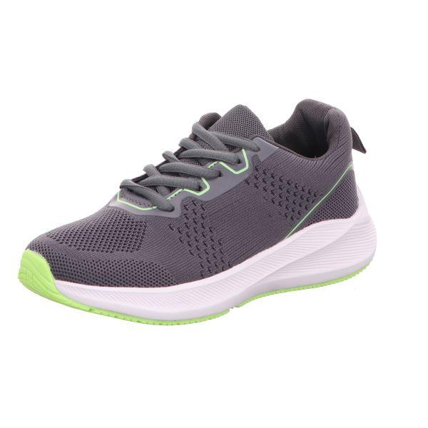 Sneakers Jungen-Sneaker Grau-Grün