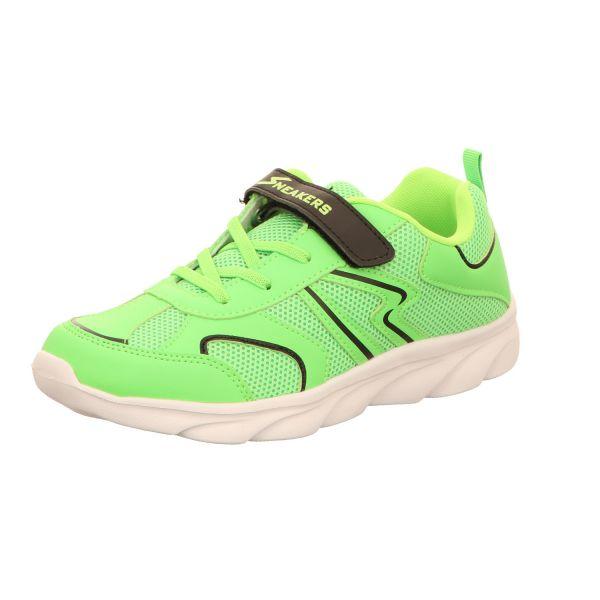 Sneakers Damen-Klett-Sportschuh Neon-Grün