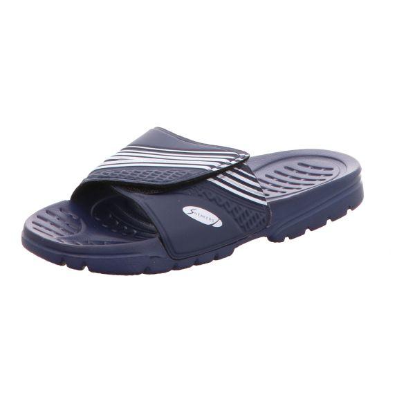 Sneakers Damen-Badepantolette Blau