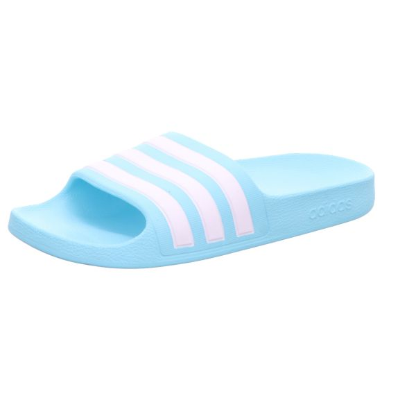 adidas Kinder-Badepantolette adilette Aqua K Hellblau