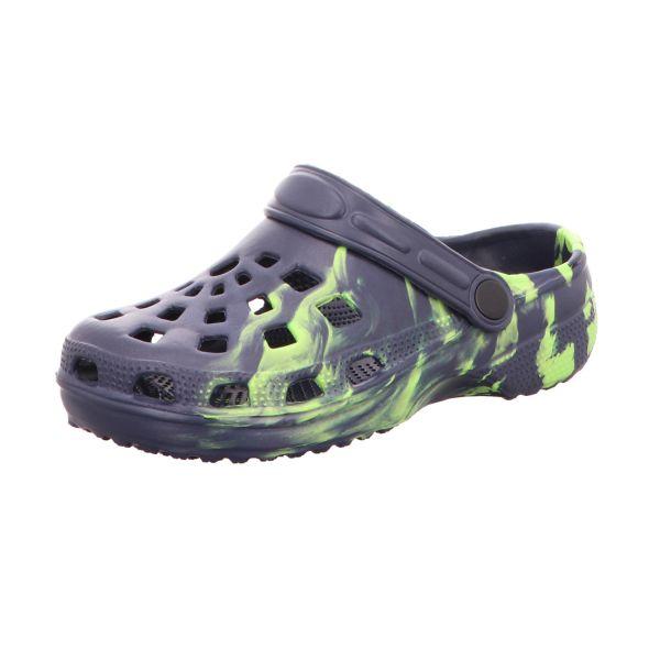 Sneakers Damen-Badeschuh Blau-Grün