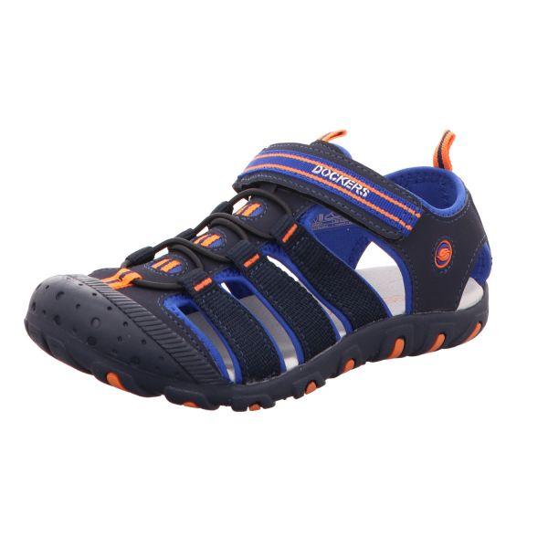 Dockers Jungen-Sandalette Blau