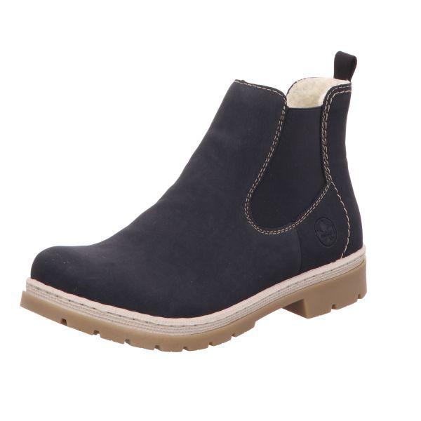 Rieker Damen-Boot Blau