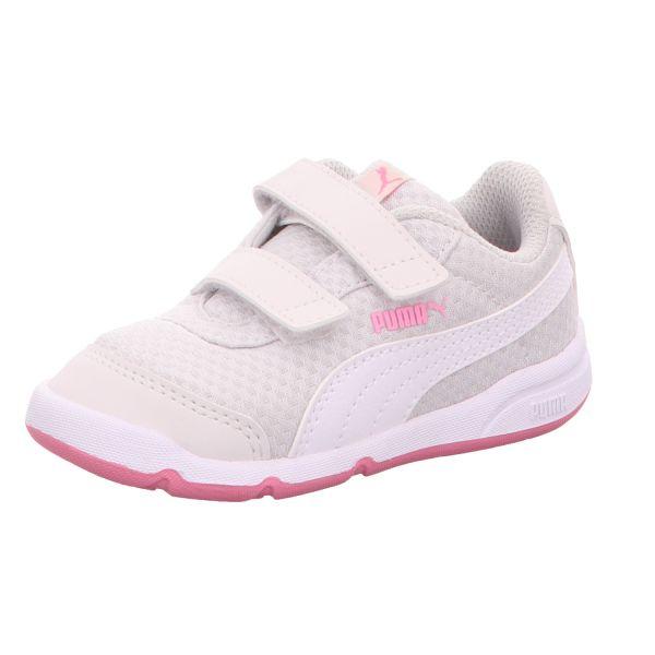 Puma Mädchen-Slipper-Kletter-Sneaker Stepfleex 2 Mesh VE V Inf Grau