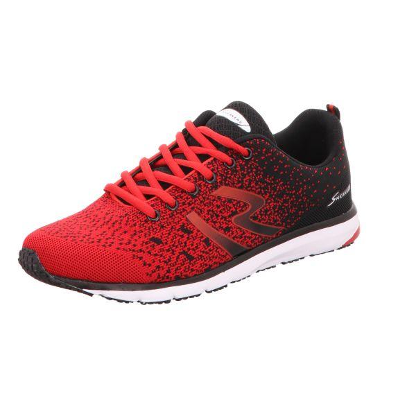 Sneakers Herren-Sneaker Rot-Schwarz
