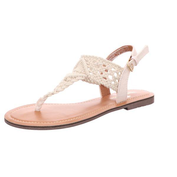 Tom Tailor Damen-Sandalette Weiß