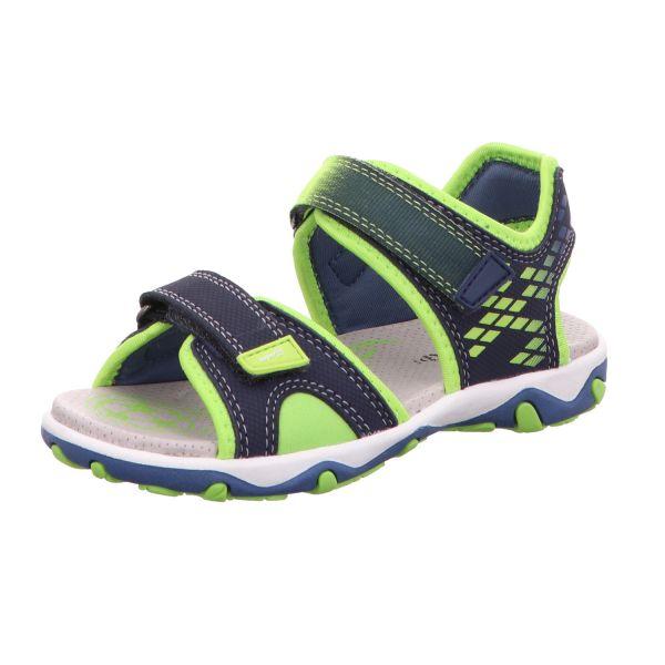 Superfit Jungen-Sandalette MIKE 3.0 Blau-Grün