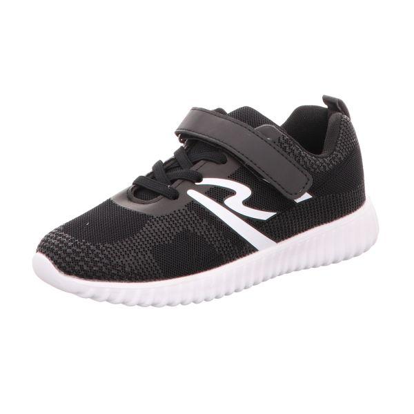 Sneakers Jungen-Slipper-Kletter Schwarz