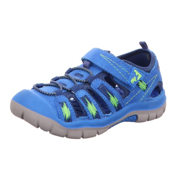 Lurchi Jungen-Sandalette Pete Blau