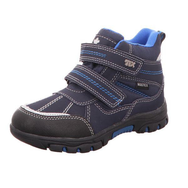 Sneakers Jungen-Tex-Allwetterstiefel gefüttert Blau