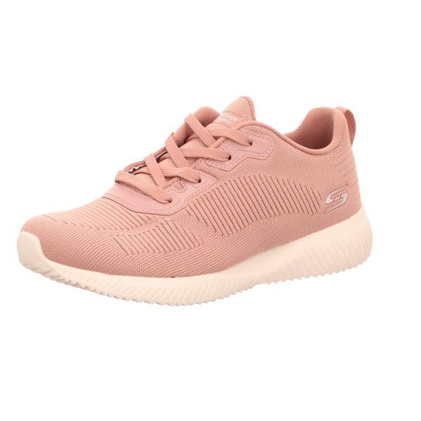 Skechers Damen-Sneaker Bobs Squad Tough Talk mit Memory Foam Pink