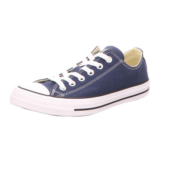 Converse Damen-Leinen-Sneaker Chuck Taylor OX Blau