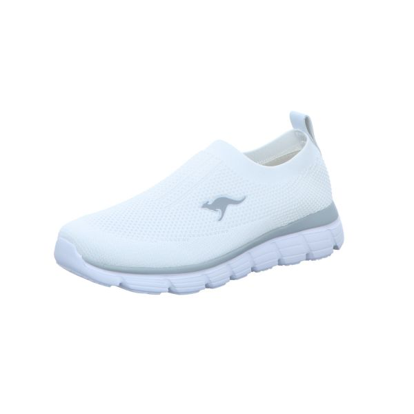 Kangaroos Damen-Slipper-Sneaker Weiß