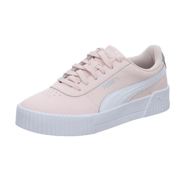 Puma Mädchen-Sneaker Carina L Jr Weiß