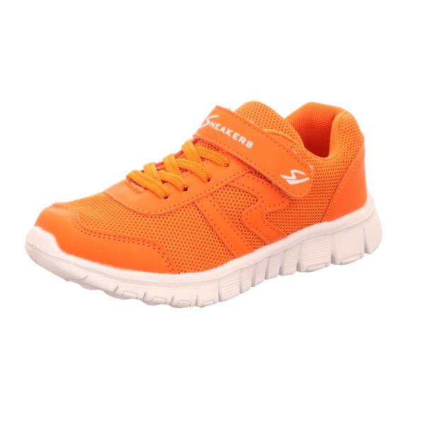 Sneakers Mädchen-Slipper-Kletter-Sneaker Orange