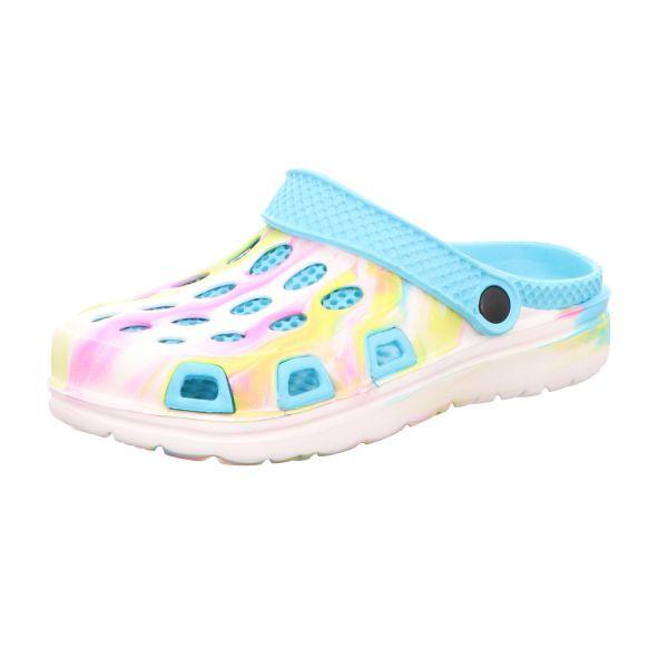 Sneakers Damen-Badeschuh Blau-Multi