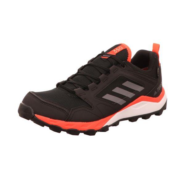 Adidas Herren-Schnürhalbschuh Terrex Agravic TR G Schwarz-Grau-Orange