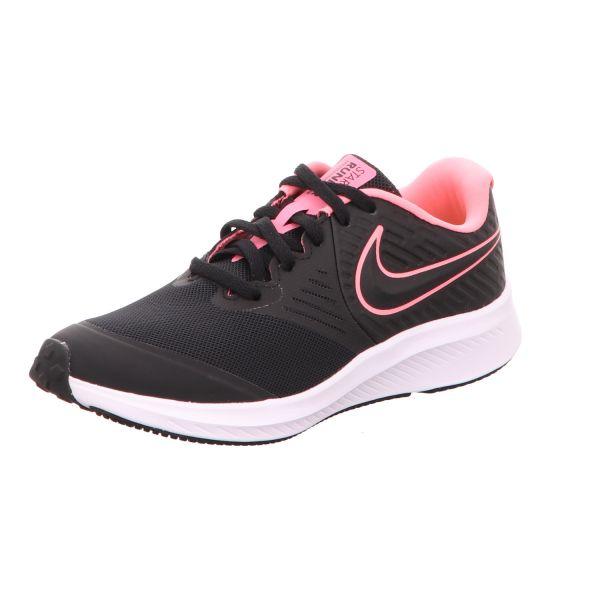 Nike Mädchen-Sneaker Star Runner 2 GS Schwarz