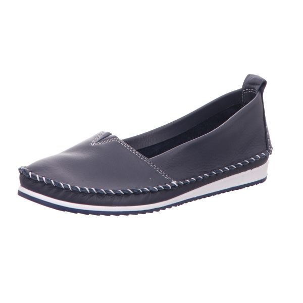 BOXX Damen-Slipper-Slip-On Blau