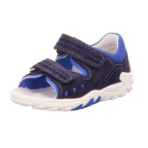 Superfit Kinder-Lauflern-Sandale FLOW Blau