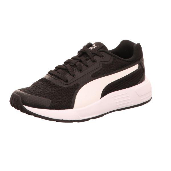 Puma Mädchen-Sneaker Taper Jr Schwarz