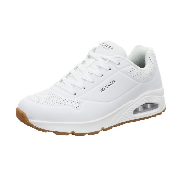 Skechers Herren-Sneaker Uno Stand On Air Air Cooled Memory Foam Weiß
