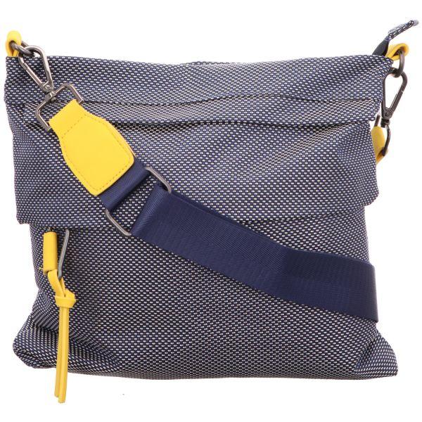 Jewels of Style Damen-Reißverschlusstasche Blau