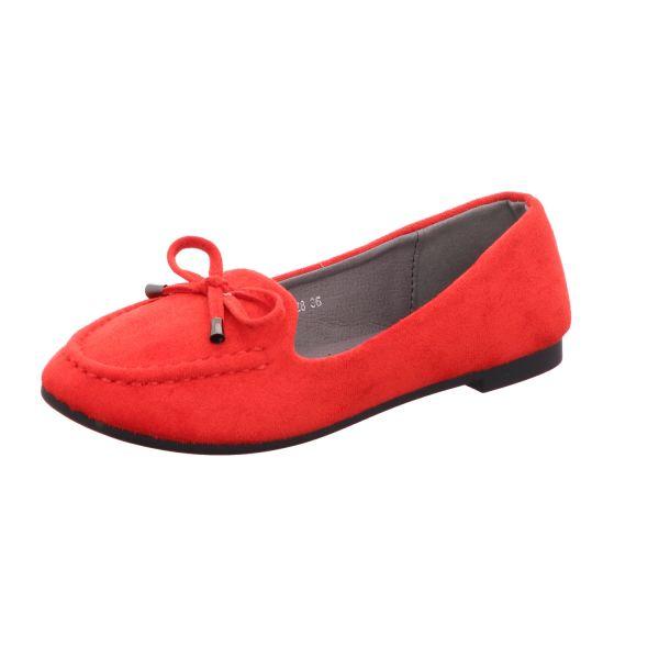 living UPDATED Damen-Ballerina Rot