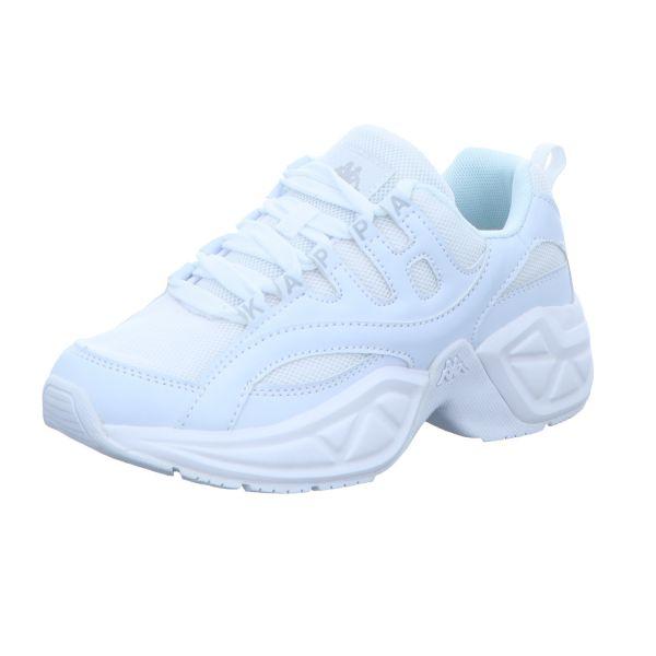KAPPA Damen-Sneaker Overton OC Weiß