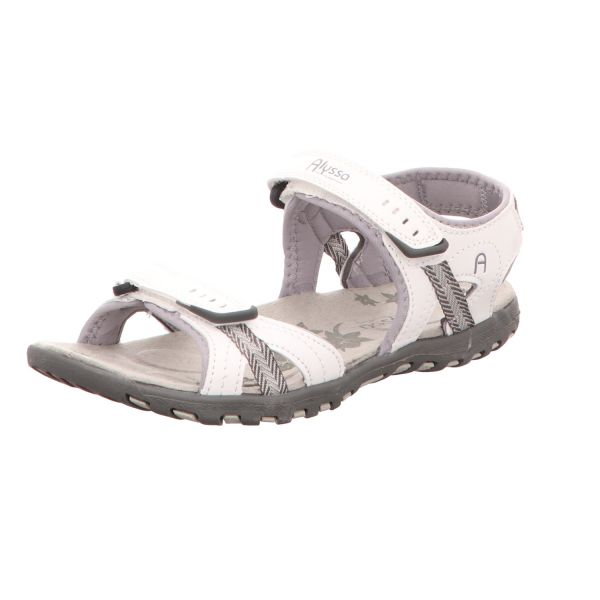 Alyssa Damen-Sandalette Weiß