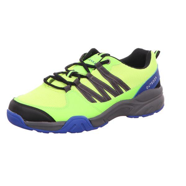 Sneakers Herren-Leichtwanderschuh Neon-Grün