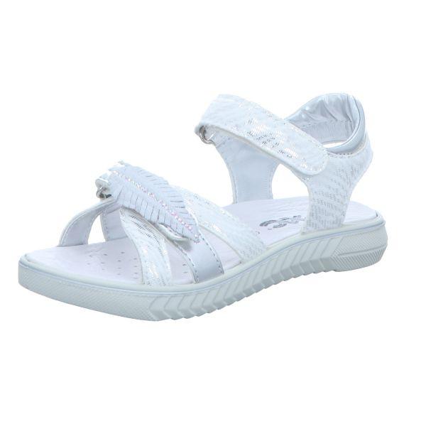 Imac Mädchen-Sandalette Weiß-Silber