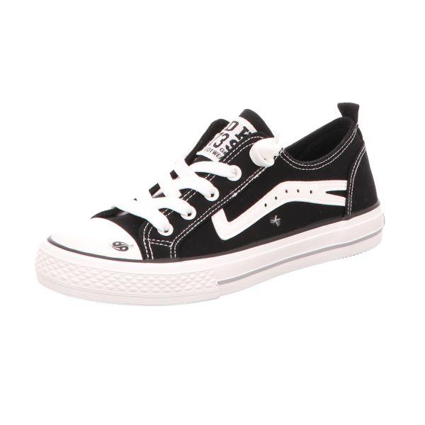 Dockers Kinder-Leinen-Sneaker Schwarz
