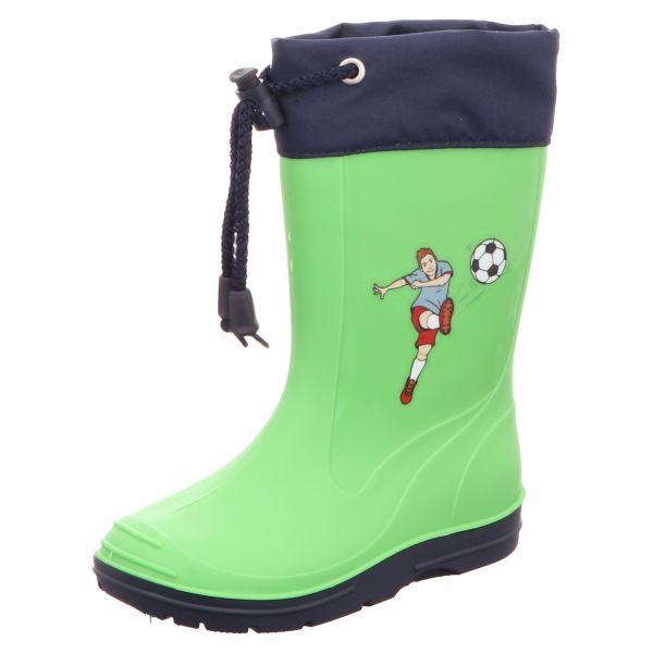 Sneakers Kinder-Gummistiefel Fußball Grün